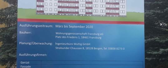 21 neue Balkone in Franzburg 2020