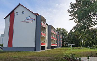 Franzburg, Platz des Friedens 1-3